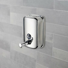Hartleys Chrome Bathroom/Toilet/Shower Wall Soap/Shampoo/Gel Hand Dispenser Pump