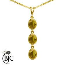 Citrine Not Enhanced Yellow Gold Fine Jewellery