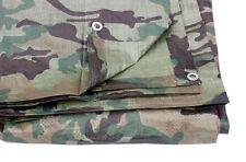 Camouflage COUVERTURE Bâche de sol 5.4M x 7m 80 g/m² (Ensemble 3 bâches)
