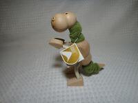 Anamalz Wooden Dinosaur T-Rex Tyrannosaurus Bendable Toy