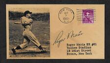 Roger Maris 61 Homers Collector's Envelope Original Period 1961 Stamp OP1126