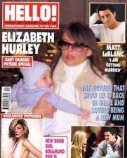 HELLO MAGAZINE #738 MATT LEBLANC, ELIZABETH HURLEY, ROSAMUND PIKE, ATOMIC KITTEN