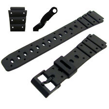 Replacement Watch Strap 17mm To Fit Casio SDB500W, TRI10W, TS100