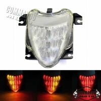 ABS Motorcycle LED Taillight Brake Turn Signal Lamp For Suzuki M109R 2006-2009