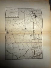 51 - CARTE MAP PLANS Campagne ITALIE 1745 & 1746 POZZOL FORMIGARO  1775