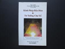 Kinh Phap Bao Dan & Tu Tuong Chu To BOOK