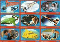 Thunderbirds Series 1 Full 72 Card Base Set of Trading Cards from Cards Inc.