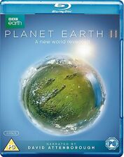 David Attenborough Planet Earth 2 II Complete BBC Series Blu ray RB New Sealed