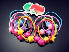 FREE Lot 20PCS NWT Elastic Girl Chiffon Hair Ties Bands Headband Rope Scrunchie