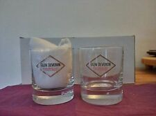 6 verres whisky GLEN DEVERON
