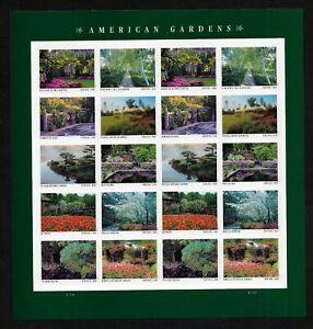#5461-5470, 5470a American Gardens Forever 2020 Sheet of 20 MNH