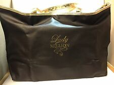 Paco Rabanne * Lady million * Tote Bag * Brown & Gold * New limited edition