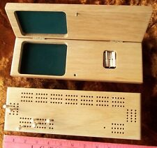 LOT of 49 wood cribbage boards 3 tracks with wood pegs NEW