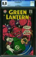 Green Lantern #56 CGC 8.0 -- 1967 -- Charley Vicker becomes Lantern #2036496001