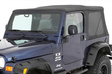 1997-2002 Jeep Wrangler TJ BLACK DENIM Soft Top, Tinted Windows, OEM Replacement