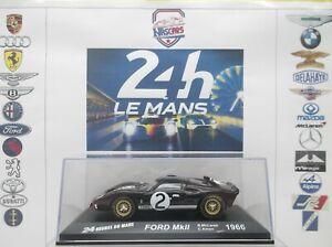 1/43 Winner 24 heures du Mans 1966 FORD GT40 MK II #2 McLaren-Amon Altaya