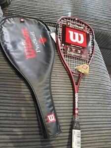 Wilson Pro Staff Titanium Halo Series T9009 Squash Racket With Case New