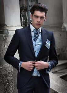 Archetipo Couture Cleofe Finati Wool & Silk Jacket Blazer Italy 50 L