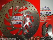 DISCO FRENO BREMBO+PASTIGLIE ANTERIORE MALAGUTI 250 PASSWORD CK 250 DAL 2006 7E5
