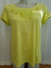 1361031b618 LADIES LIME GREEN SHORT SLEEVED TOP BY SAVOIR SIZE 14 ONLY