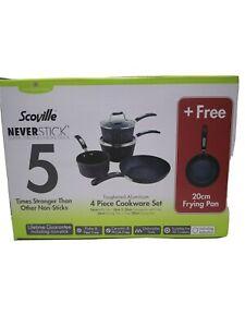 Scoville neverstick 5 piece cookware set ,h