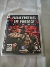 BROTHERS IN ARMS HELL'S HIGHWAY PS3 TRES BON ETAT SONY 18+