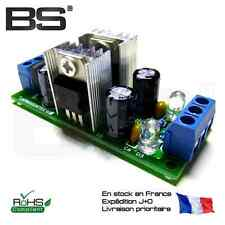 LM7812 + LM7912 module alimentation symetrique pont redresseur + regulateurs