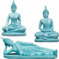 Vintage Style Resin Material Buddha Miniatures Statue Home Office Decoration New