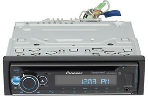 Pioneer DEH-S6220BS CD Receiver with Built-In Bluetooth  UL RGB NEW