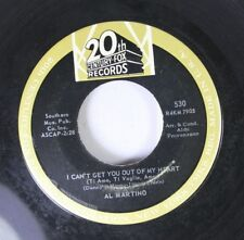 Pop 45 Al Martino - I Can'T Get You Out Of My Heart / Come Back To Me On 20Th Ce