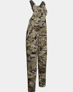 Under Armour Women's Grit Bib Pants NWT $180 Hunting Camouflage Mid Season Kit