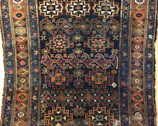 Tremendous Tribal - 1900s Antique Kurdish Rug - Oriental Carpet - 4.5 x 7.10 ft.