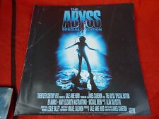Abyss Body Melt Cover Only Many More Laser Disc In My Items Large DVD LaserDisc