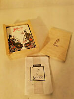 Java's Classical Wayang Toelen Playing Cards Booklet Included Inside
