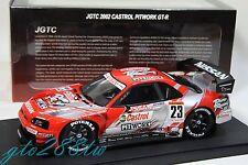 """AUTOart 1:18 """"Castrol Pitwork"""" Nissan Skyline Nismo GT-R R34 JGTC GT500 2002 #23"""