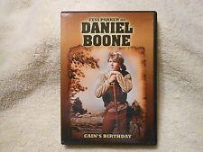 Daniel Boone - Cains Birthday Parts 1 & 2 (DVD, 2007)**LIKE NEW** **GENUINE**