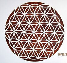 Flower of Life Stencil/Template Reusable 10 mil Mylar Stencil