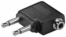GOOBAY Audio Adattatore 2x 3.5 MM Maschio (2-pin) MONO A 3.5 MM MASCHIO STEREO (3-pin)