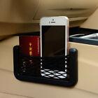 Car Seat Side Door Black Elastic Net Bag Card Pen Storage Organizer Phone Holder