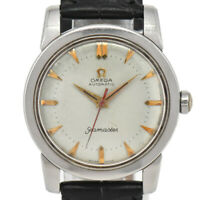 Auth Vintage Omega Seamaster Half Rotor Cal.354 Automatic Men's Watch T#B1568