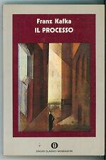 KAFKA FRANZ IL PROCESSO MONDADORI 1975 GLI OSCAR CLASSICI 11 LETTERATURA CECA