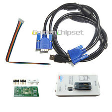 NEW Universal RT809F EPROM FLASH VGA ISP LCD USB AVR GAL PIC Programmer KB9012QF