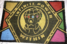 Official Marvel Avengers Infinity War Doormat Floor Mat Infinity Stones Guantlet