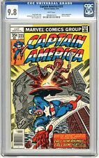 Captain America #223 CGC 9.8 NMMT Wht pgs 7/78  Steve Gerber story, Sal Buscema