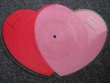 Cliff Richard-Two Hearts Picture Shape 7 inch-UK-1988-Rock-Pop-45 U/min-EMI