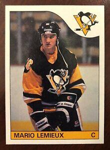 1985-86 Topps Mario Lemieux Rookie Card - HOF - Great Centering!