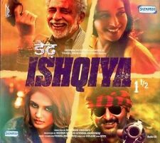 DEDH ISHQIYA  - BOLLYWOOD SOUNDTRACK CD - FREE POST [1 & 1/2 HALF]