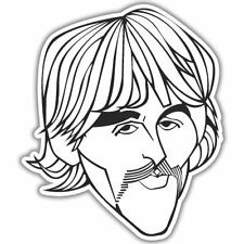 "The Beatles George Harrison Vinyl Car Sticker Decal 5"" x 4"""