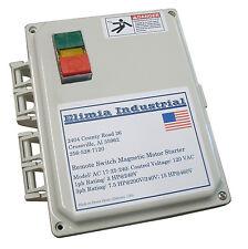 Elimia DOL Start/stop/led Motor Starter 480v Coil 4 - 6 Amp 3 HP Waterproof