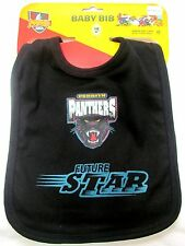 Set of 2 Penrith Panthers Team Mascot Future Star Baby Infant Bib Black and Blue